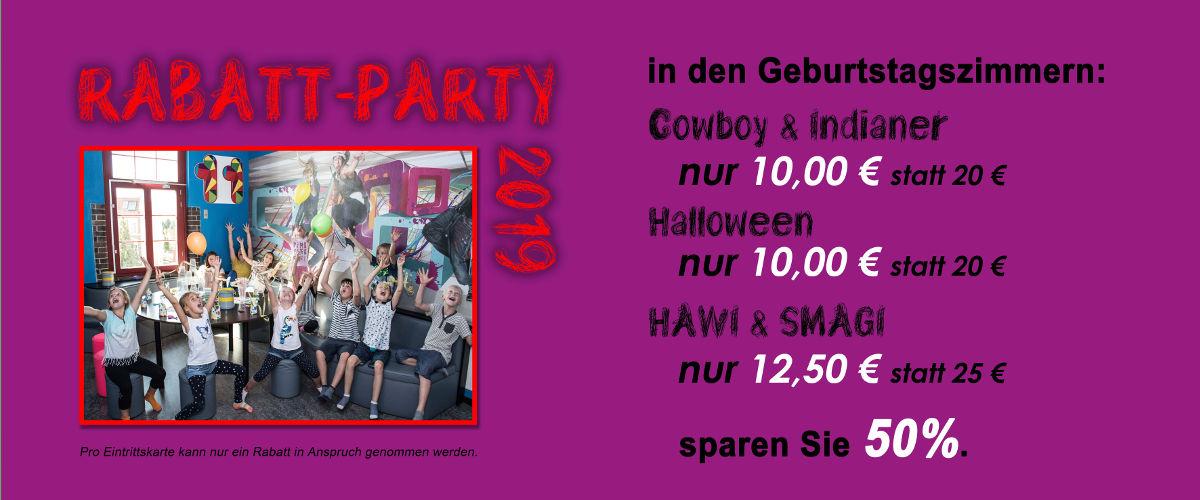 Rabatt Party