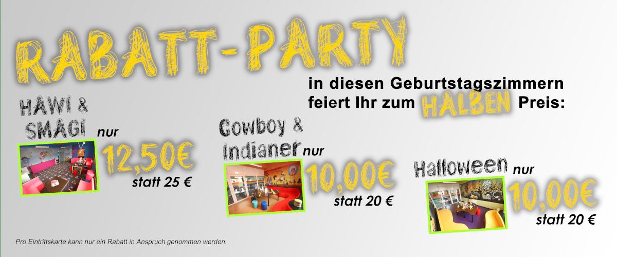 Party rabatt
